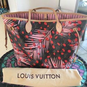 Louis Vuitton Sugar Pink Poppy LE Mono NF mm